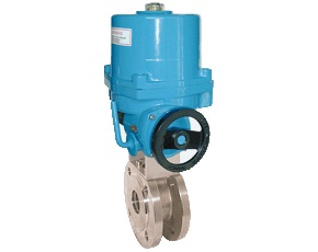 Flange Ball Valve with Electric Actuator KUE-VK